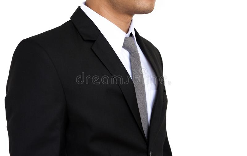 Portrait of a young business man royalty free stock images