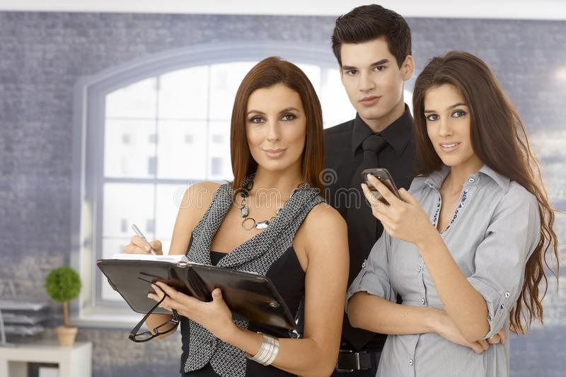 Download Portrait Of Young Business Team Stock Image - Image: 34277417