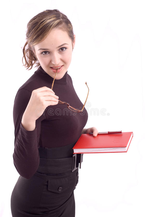 Download Portrait Of A Young Business Woman Royalty Free Stock Image - Image: 13215486