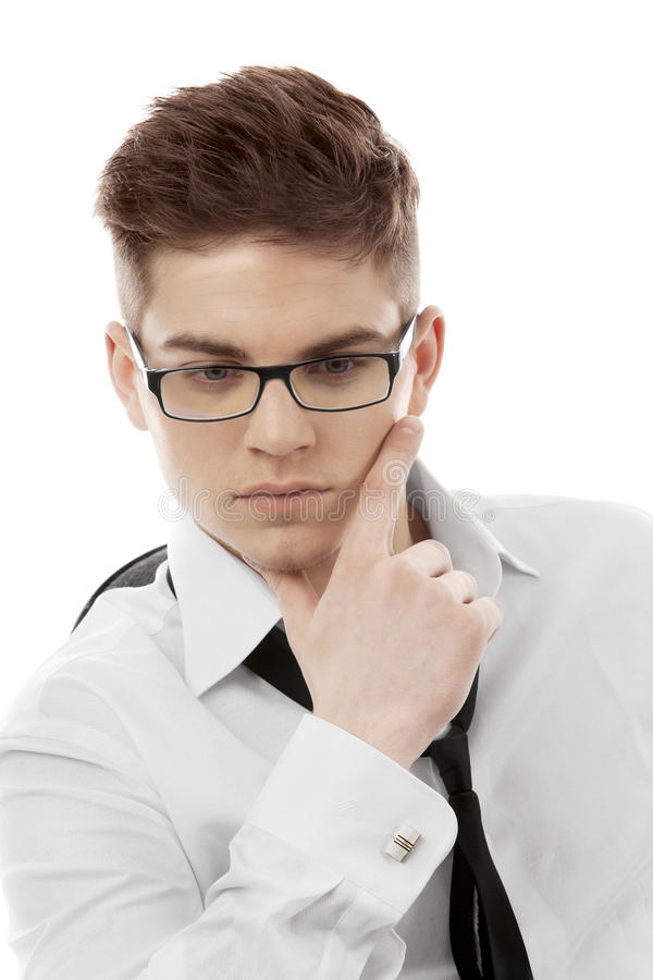 Download Portrait Of A Young Businessman Stock Photo - Image: 28277588