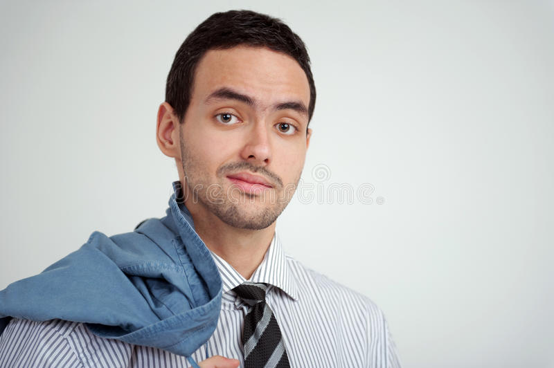 Portrait of young businessman royalty free stock images
