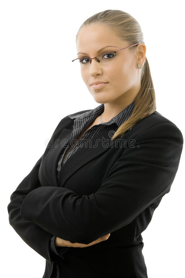 Portrait Of Young Businesswoman Royalty Free Stock Photo