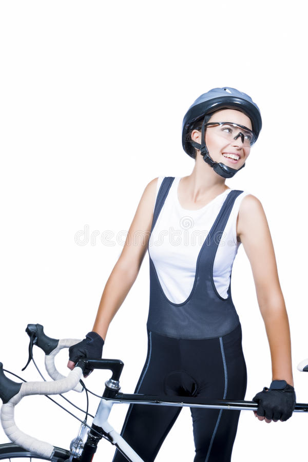 Download Portrait Of Young Caucasian Female Athlete Wearing Professional Stock Photo - Image: 32450160