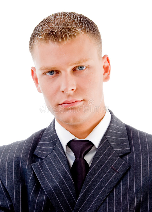 Portrait Of Young Ceo Stock Photography