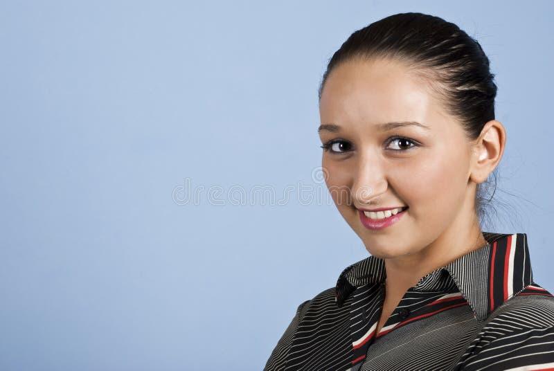 Portrait of young confident woman