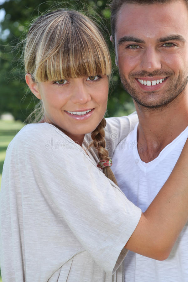 Download Portrait Of Young Couple Stock Photography - Image: 29062812