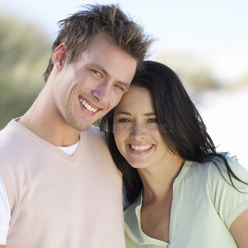 Portrait of a young couple stock photography