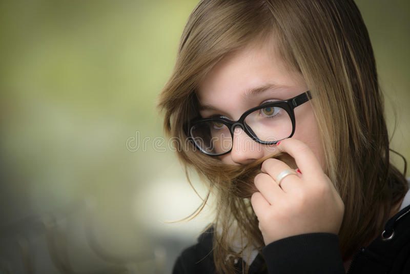 Download Portrait of a young girl stock image. Image of skin, beautiful - 24654985
