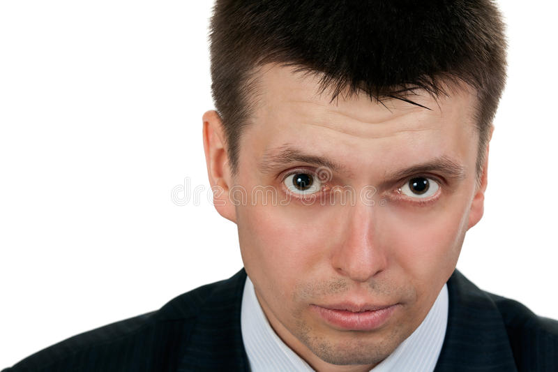 Download Portrait Of A Young Handsome Businessman Stock Image - Image: 20143177