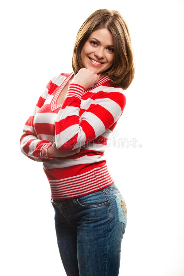 Young woman royalty free stock photos