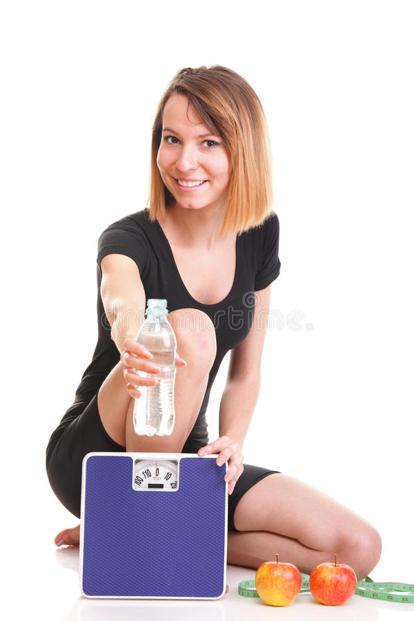 Download Portrait Young Healthy Woman Dieting Concept Stock Images - Image: 28560504