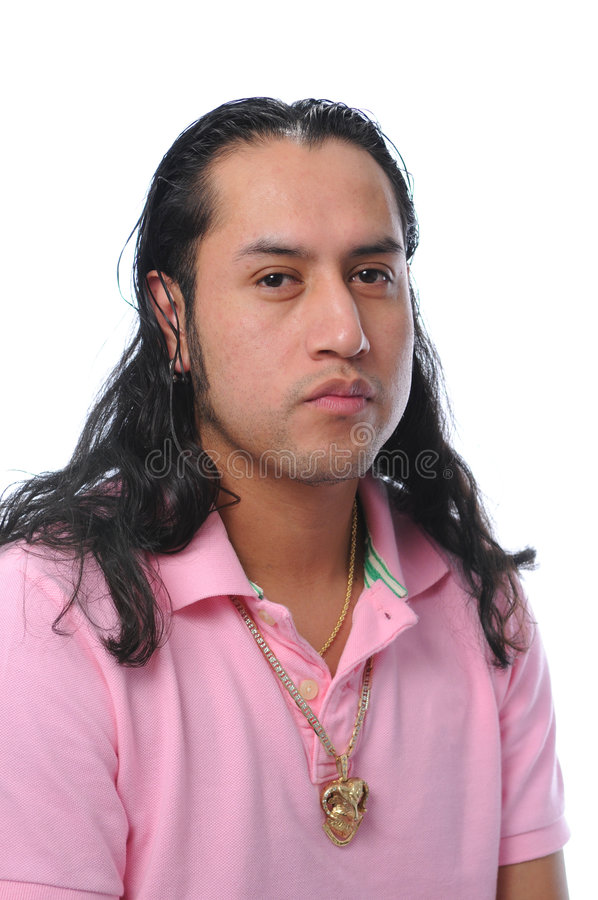 Portrait of young Latino royalty free stock image