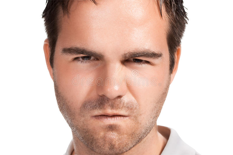 Download Portrait of young man. stock photo. Image of pain, color - 20758316