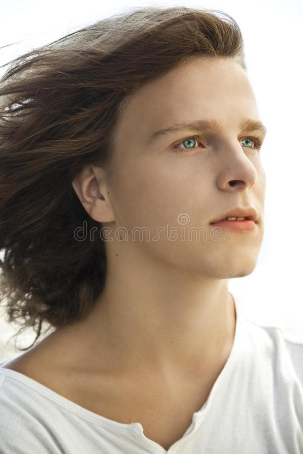 Download Portrait of young man stock photo. Image of confidence - 24714780