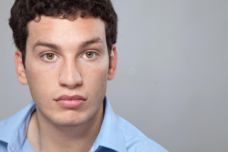 Portrait of a young man royalty free stock photos