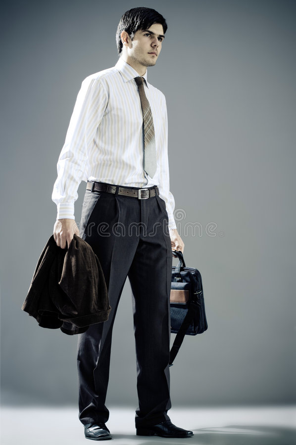 Download Portrait of a young man stock image. Image of beautiful - 7817867