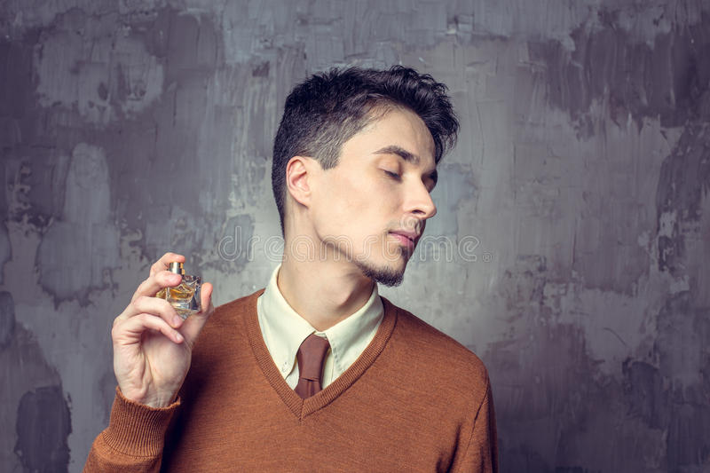Portrait of young man stock image