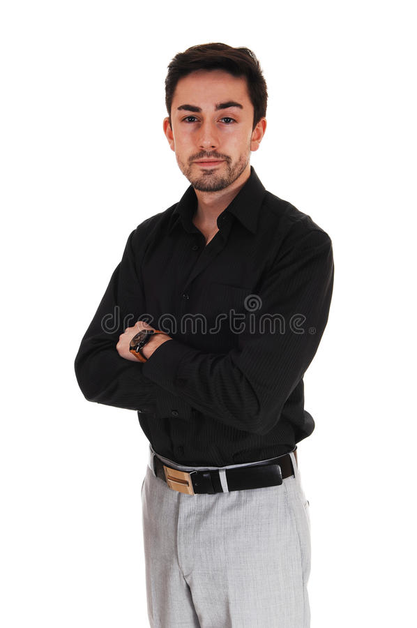 Download Portrait of young man. stock photo. Image of confidence - 39505970