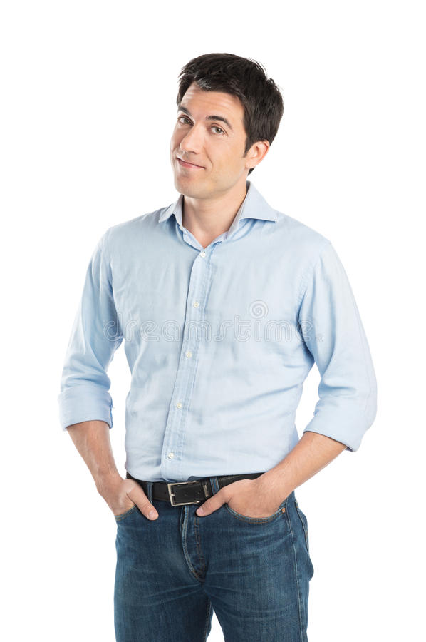 Portrait Of Young Man Stock Photos
