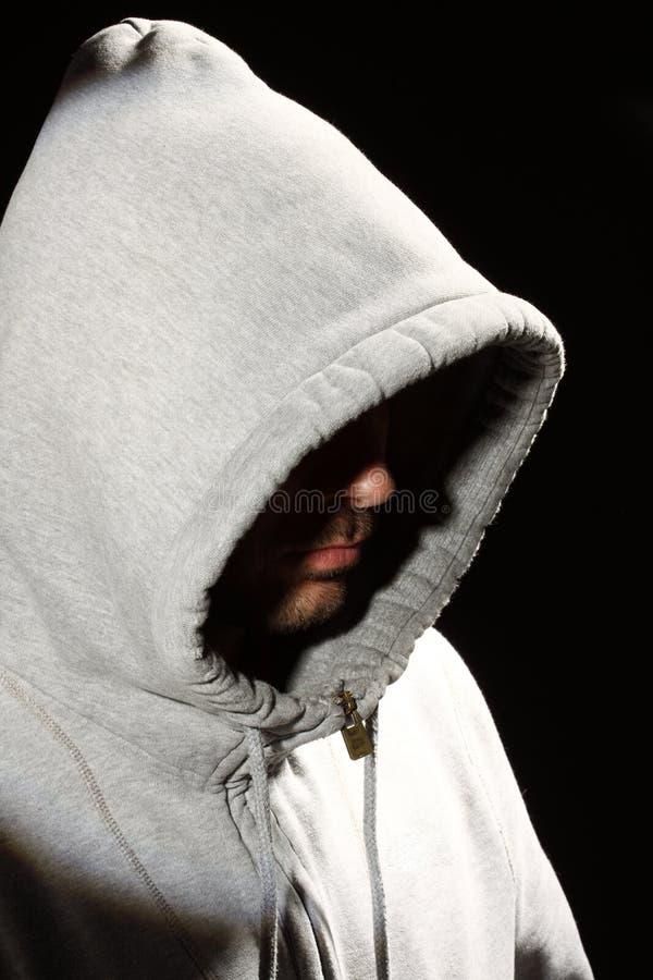 Download Man in a hood stock photo. Image of cowl, criminal, hooligan - 29870582