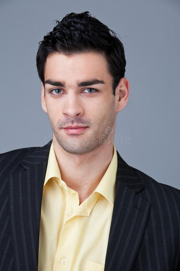 Download Portrait of young manager stock image. Image of male - 18903187