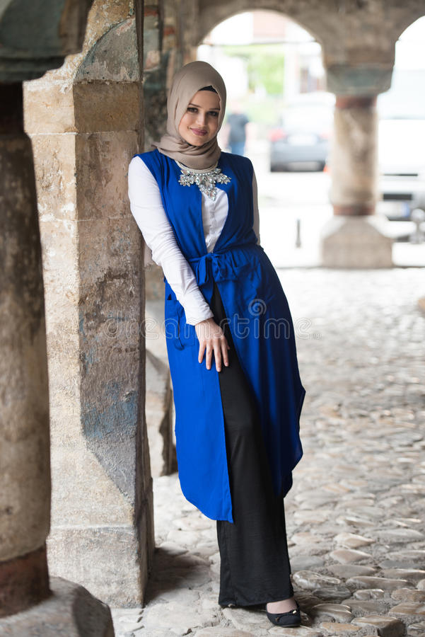 Portrait Of Young Muslim Woman royalty free stock photography