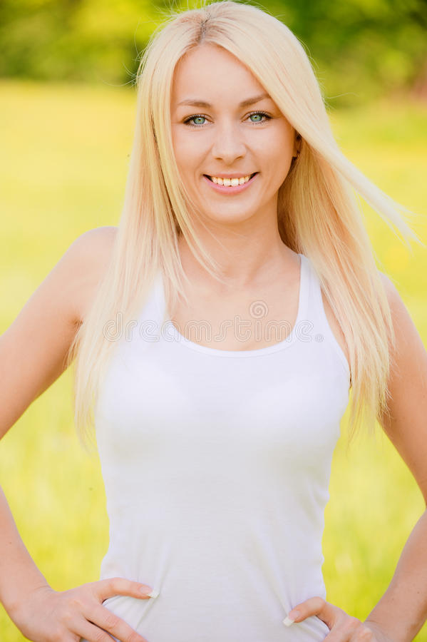Download Portrait Of Young Smiling Woman Stock Images - Image: 14570944