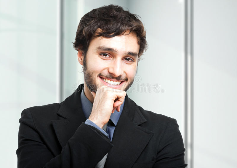Businessman portrait royalty free stock photos