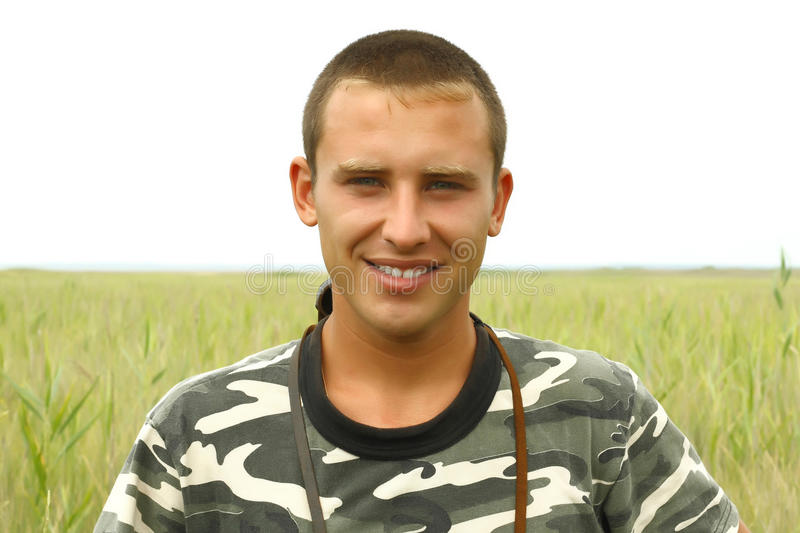 Download Portrait Of A Young Ukrainian Military Stock Image - Image: 15028251