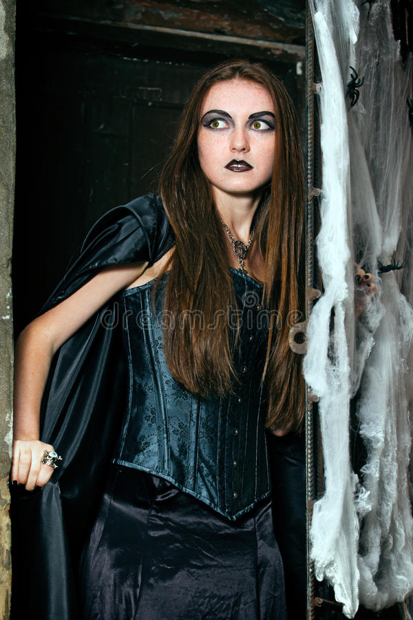Download Portrait Of A Young Witch Stock Photography - Image: 21567462