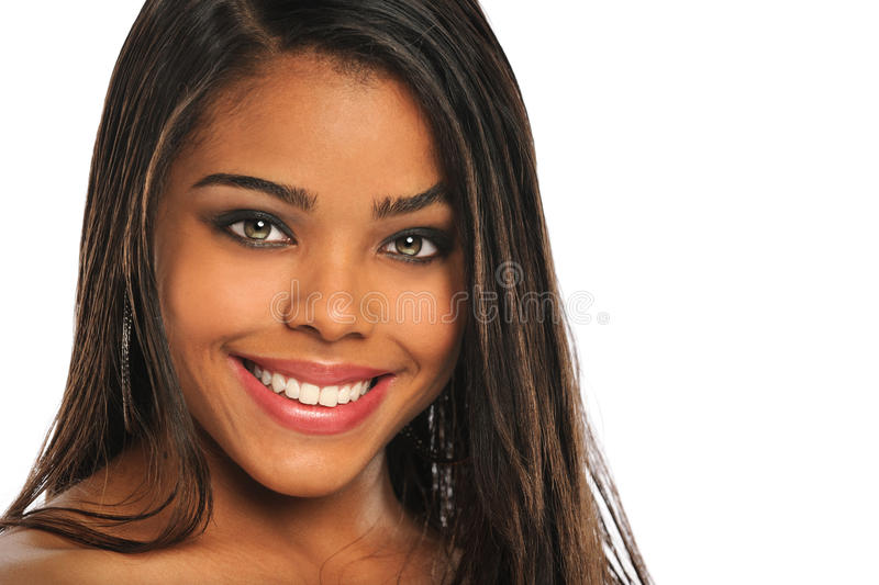 Download Portrait of Young Woman stock photo. Image of attractive - 22720470