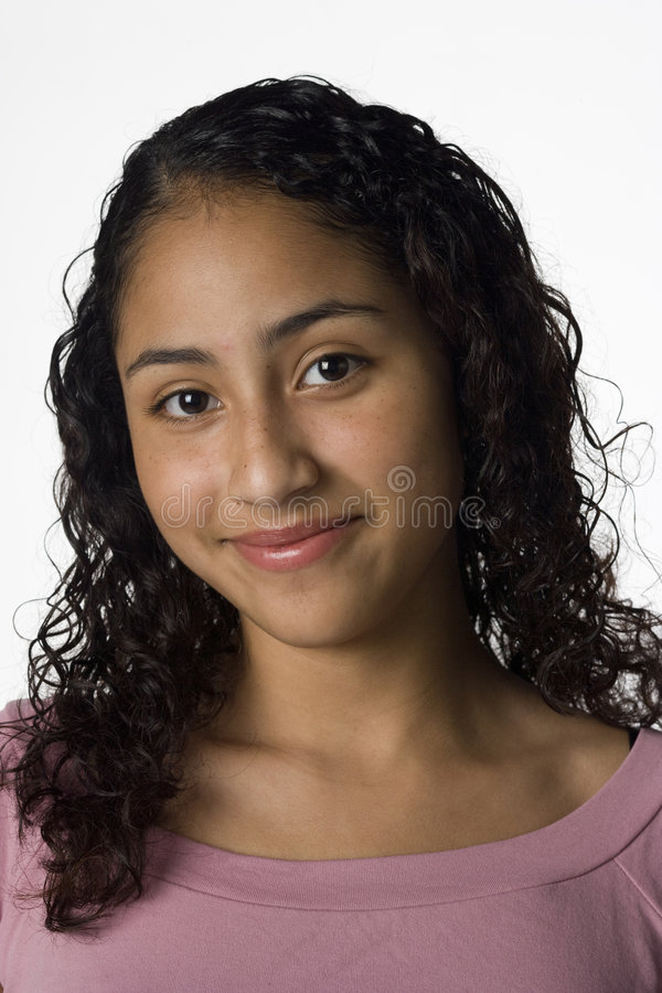 Portrait of a young woman royalty free stock images