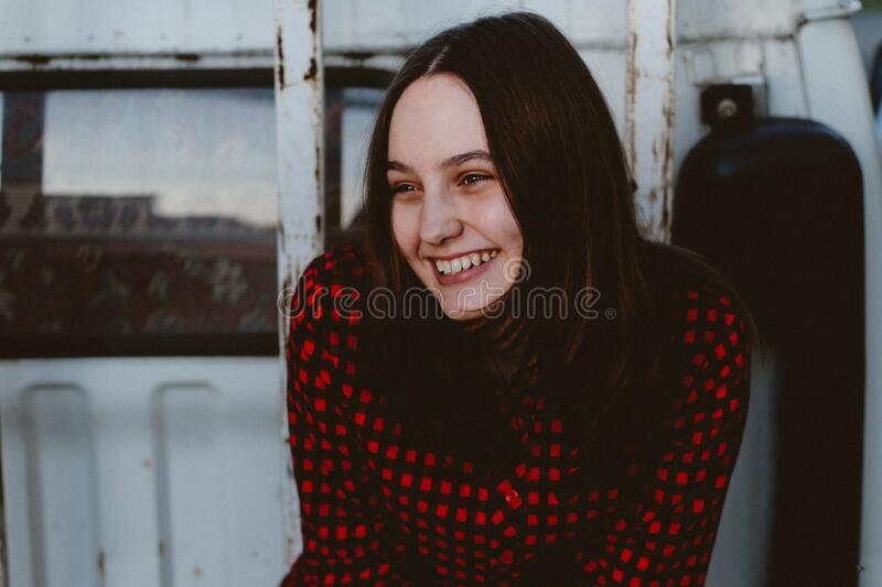 Portrait of Young Woman stock photography
