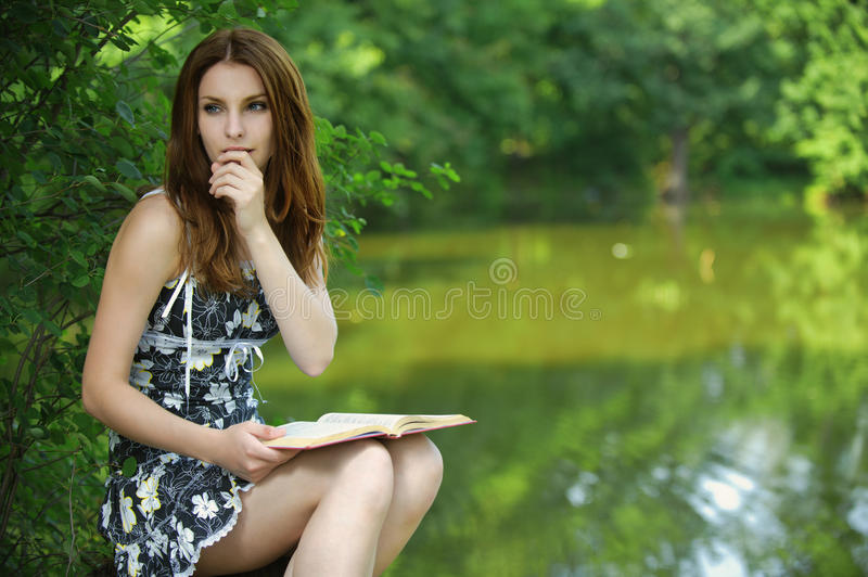 Download Portrait Of Young Woman Holding Stock Image - Image: 20742131