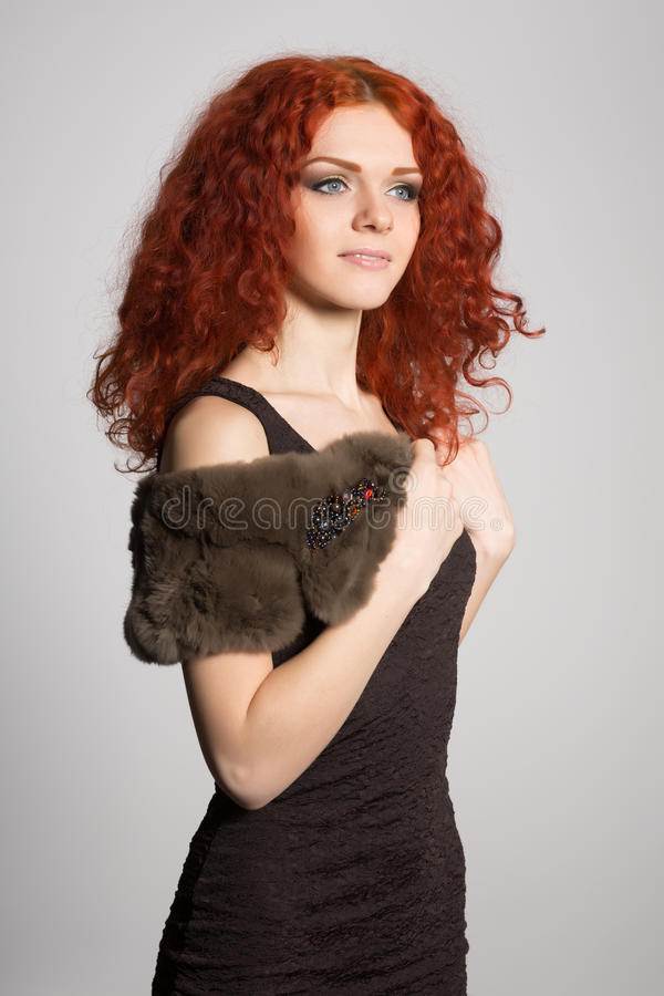 Portrait young woman stock images