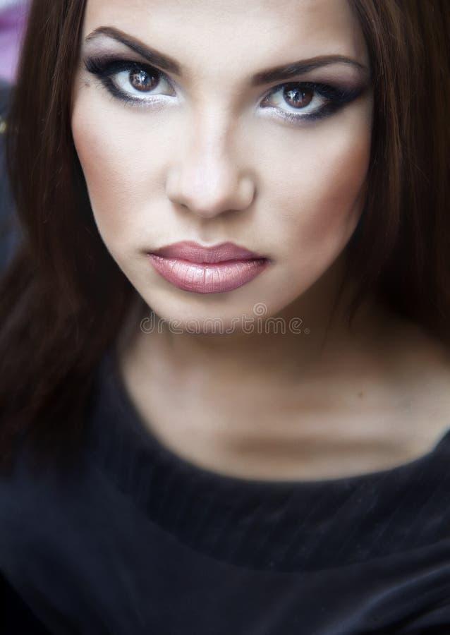 Portraite of a pretty girl