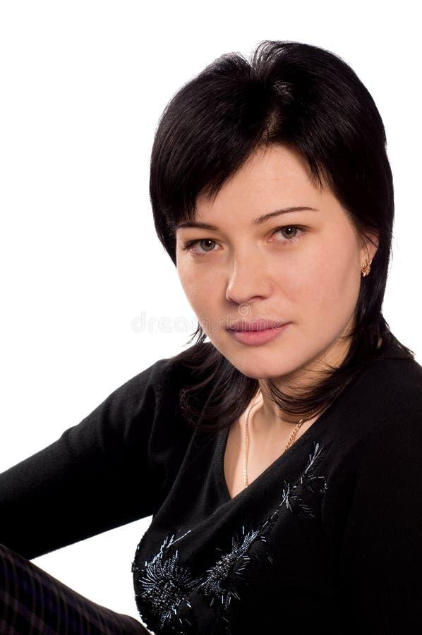 Portraitfrau stockfoto