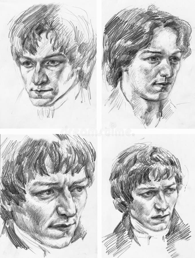 Portraits Stock Image