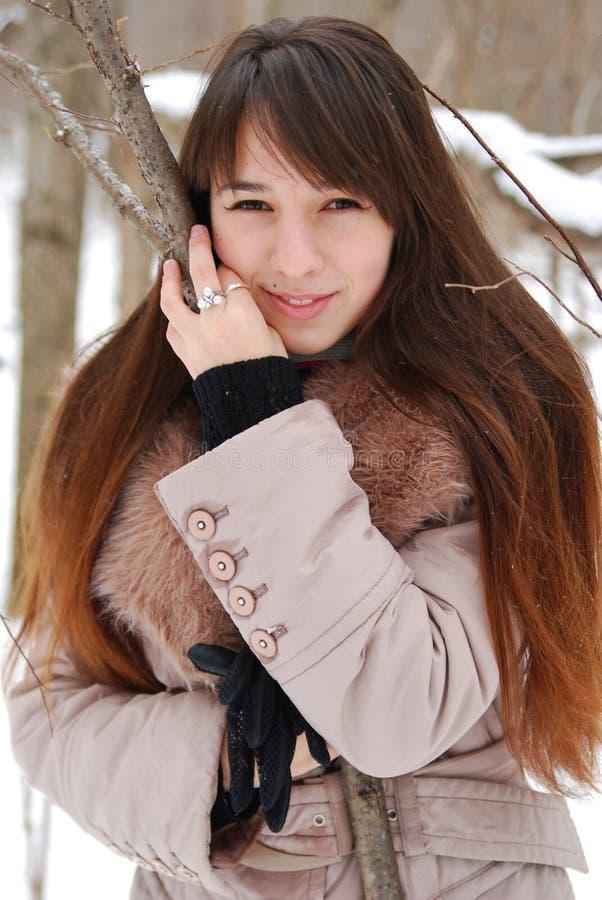 Portraits Beautiful Girl Royalty Free Stock Photography