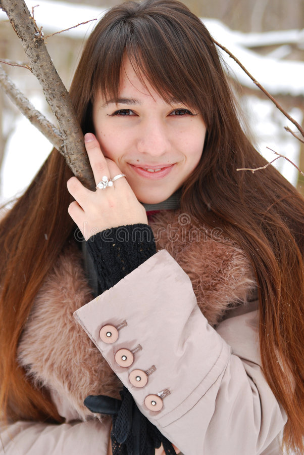 Portraits beautiful girl stock images