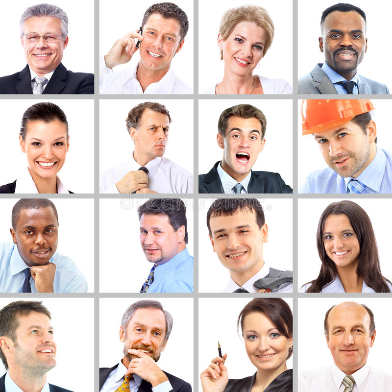 Download Portraits Of Business People Royalty Free Stock Photography - Image: 26045037
