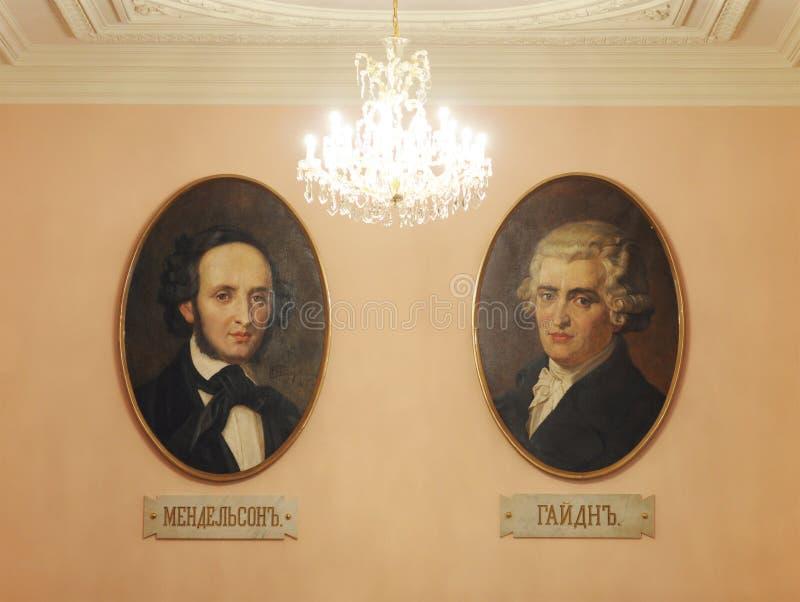 Download Portraits De Haydn Et De Mendelssohn, Conservatoire De Moscou Photographie éditorial - Image du musique, mendelssohn: 45352087
