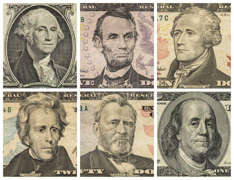 Download Portraits De Président Sur Des Billets D'un Dollar Image stock - Image du président, hamilton: 77152863