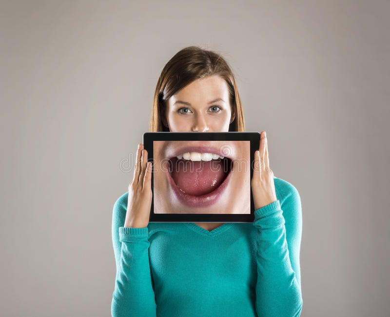Portraits drôles photos libres de droits