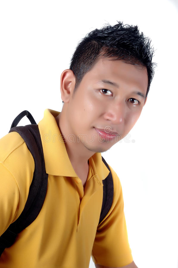 Download Portraiture Of A Young College Stock Photo - Image: 18508840