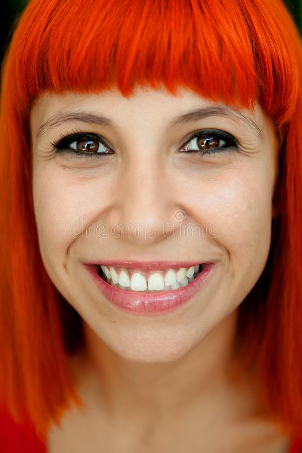 Portratit μιας redhead γυναίκας στοκ φωτογραφία