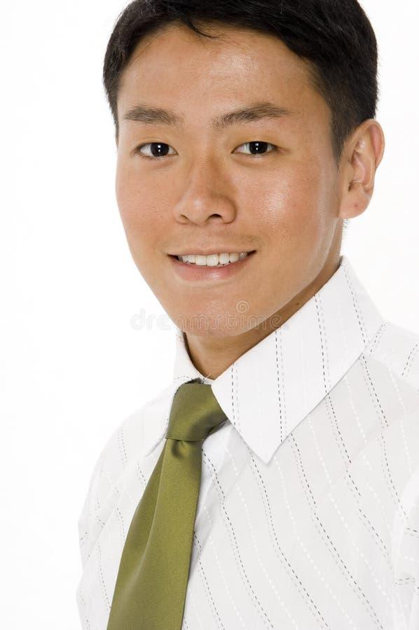 Portratit do homem de negócios novo fotografia de stock royalty free