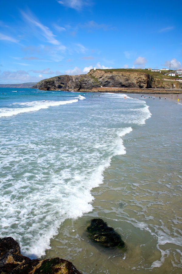 Download Portreath, Cornwall, UK. stock image. Image of color, blue - 2800375