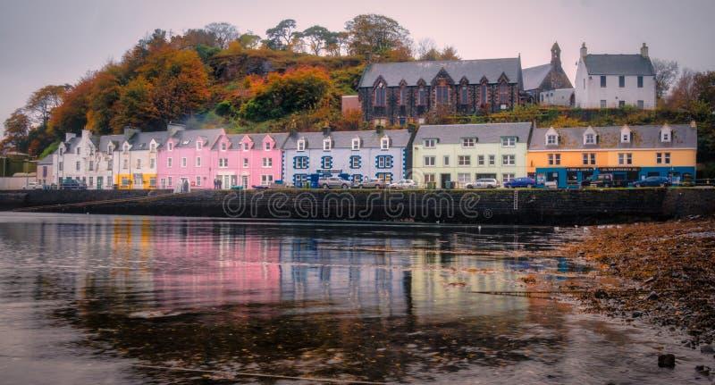 Portree, остров Skye, Шотландии, u K стоковые фотографии rf
