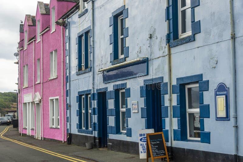 View On Portree, Isle Of Skye, Scotland Stock Photo - Image